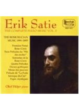 Satie: Complete Piano Music,Volume 2