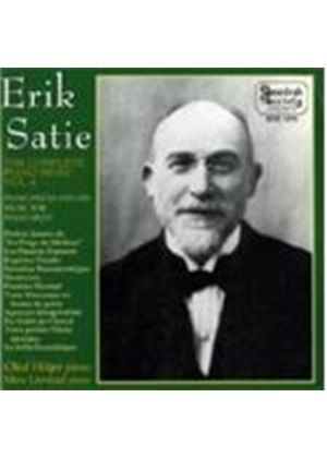 ERIK SATIE - Complete Piano Music Vol. 6 (Hojer)