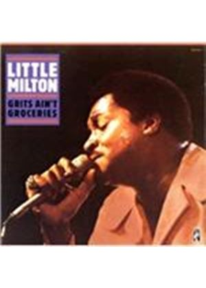 Little Milton - Grits Ain't Groceries (Live Recording) (Music CD)
