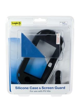 Logic3 Silicone Case And Screen Guard (PlayStation Vita)