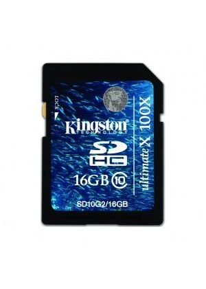 Kingston 16GB SDHC Ultimate X Class 10 Memory Card