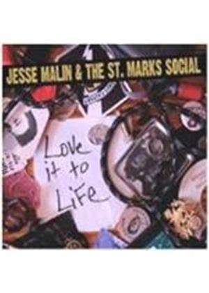 Jesse Malin & The St. Marks Social - Love It To Life (Music CD)