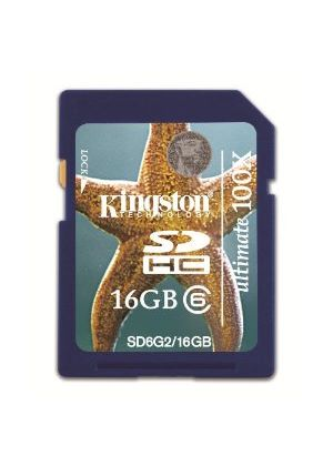 Kingston 16GB SDHC Ultimate Class 6