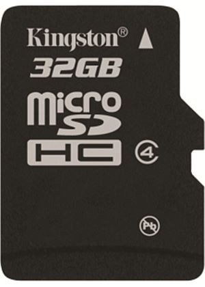 Kingston - Flash memory card - 32 GB - Class 4 - microSDHC