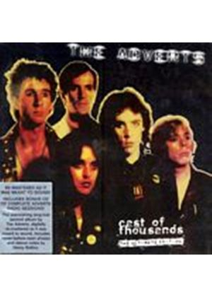 The Adverts - Cast Of Thousands (Music CD)