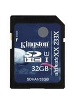 Kingston Secure Digital High Capacity (SDHC) 32GB Ultimate Flash Card (Class 4)