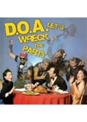DOA - Let's Wreck The Party (Music CD)