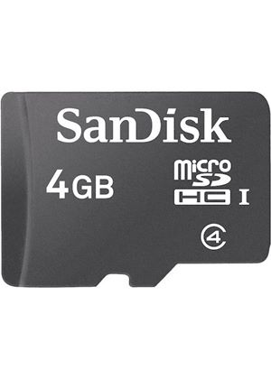 SanDisk Micro SDHC 4GB Card Only