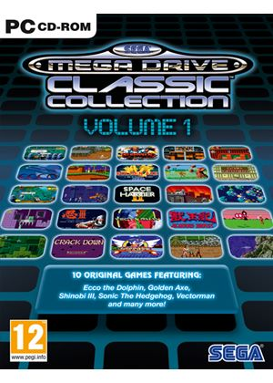 SEGA Mega Drive Classic Collection - Vol. 1 (PC)