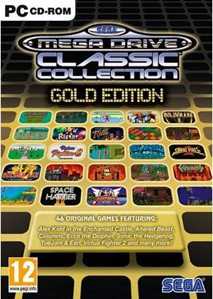 SEGA Mega Drive Classic Collection - Gold (PC)