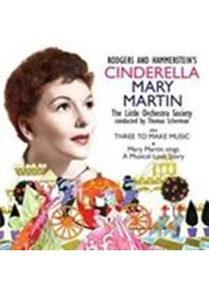 Mary Martin - Cinderella/Three To Make Music (Music CD)