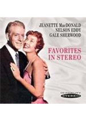 Jeanette MacDonald & Nelson Eddy/Gale Sherwood - Favorites In Stereo (Music CD)