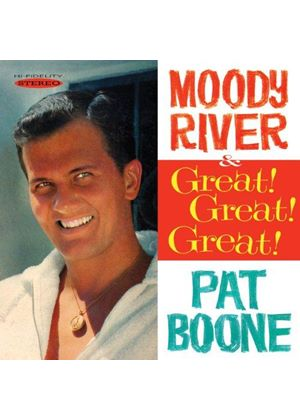 Pat Boone - Moody River/Great! Great! Great! (Music CD)