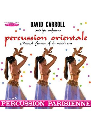 David Carroll - Percussion Orientale/Percussion Parisienne (Music CD)