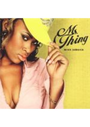 Ms. Thing - Miss Jamaica [PA] (Music CD)