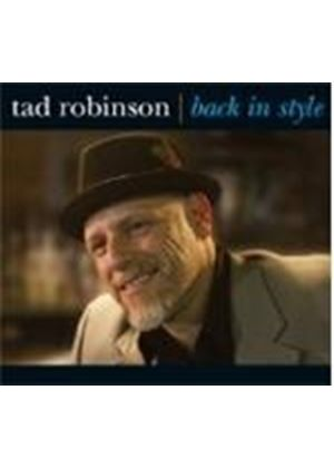 Tad Robinson - Back In Style (Music CD)