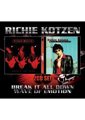 Richie Kotzen - Break It All Down/Wave of Emotion (Music CD)