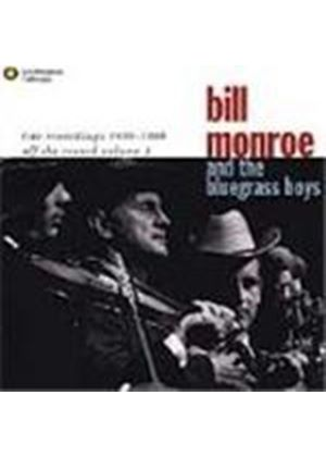 Bill Monroe & The Bluegrass Boys - Off The Record Vol.1 (Live Recordings 1956-1969)