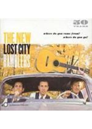 New Lost City Ramblers (The) - Where Do You Come From Where Do You Go (Music CD)