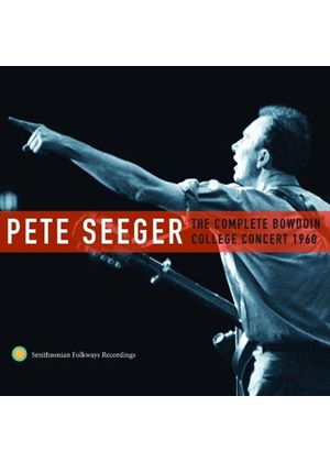 Pete Seeger - Complete Bowdoin College Concert 1960 (Live Recording) (Music CD)