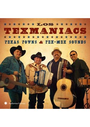 Texmaniacs (Los) - Texas Towns & Tex-Mex Sounds (Music CD)