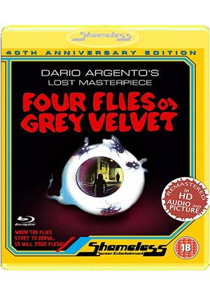 Four Flies On Grey Velvet (Blu-Ray)