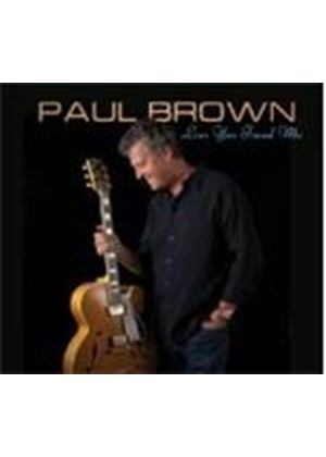 Phil Brown - Love You Found Me (Music CD)