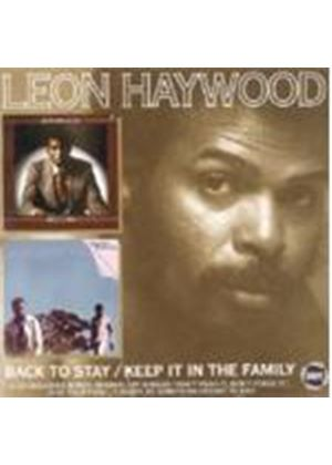 Leon Haywood - Keep It In The Family/Back To Stay (Music CD)