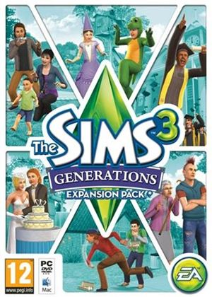 The Sims 3: Generations (Expansion Pack) (PC)