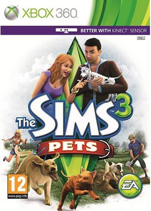 The Sims 3 - Pets - Kinect Compatible (Xbox 360)