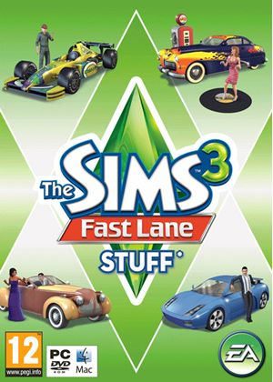 The Sims 3: Fast Lane Stuff (PC DVD)