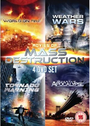 Movies of Mass Destruction Boxset (4 disc DVD)