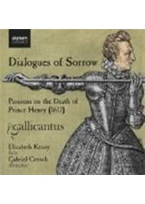 Dialogues of Sorrow (Music CD)