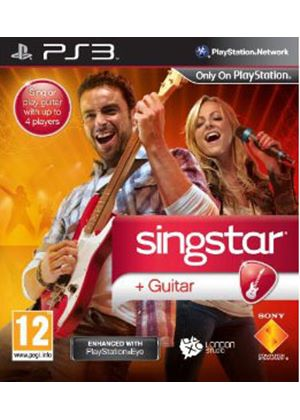 Singstar Guitar (Move Compatible) (PS3)