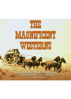 Soundtrack Compilation - The Magnificent Westerns (City Of Prague Philharmonic Orch) (Music CD)