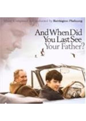 Original Soundtrack - And When Did You Last See Your Father? (Pheloung) (Music CD)