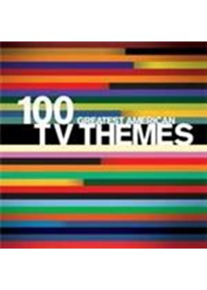 Various Artists - 100 Greatest American TV Themes (Music CD)