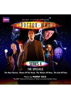 Murray Gold - Doctor Who Original Music From Series 4: The Specials (2 CD Set) (Music CD)