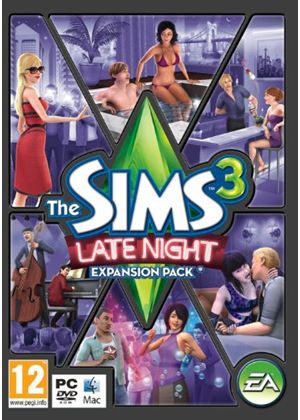The Sims 3: Late Night - (Expansion Pack) (PC DVD)