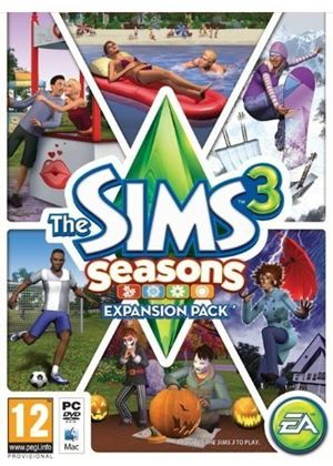 The Sims 3 Seasons Expansion Pack (PC/Mac DVD)