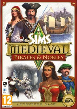 The Sims Medieval: Pirates & Nobles (Expansion Pack) (PC/Mac DVD)