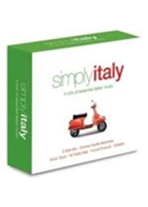 Various Artists - Simply Italy - 4 CDs Of Essential Italian Music (Music CD)