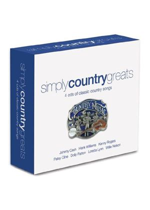 Various Artists - Simply Country Greats (Music CD)