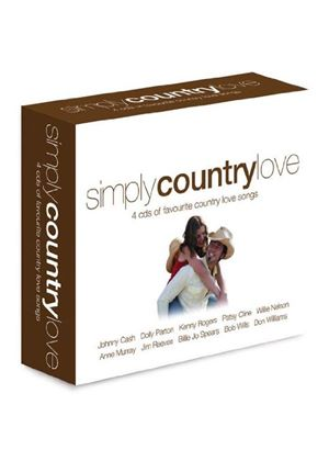 Various - Simply Country Love (4CD) (Music CD)