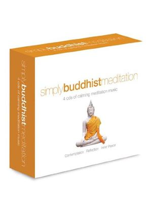 Various - Simply Buddhist Meditation (4CD) (Music CD)