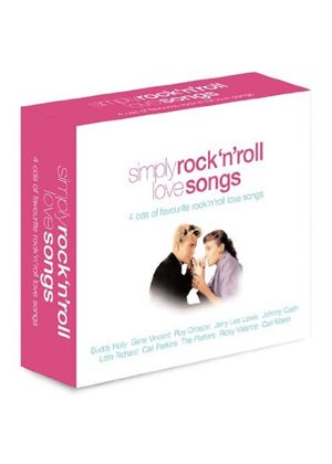 Various - Simply Rock 'n' Roll Love Songs (4CD) (Music CD)
