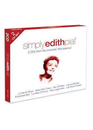 Edith Piaf - Simply Edith Piaf (2CD) (Music CD)