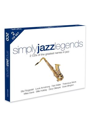 Various Artists - Simply Jazz Legends (Music CD)