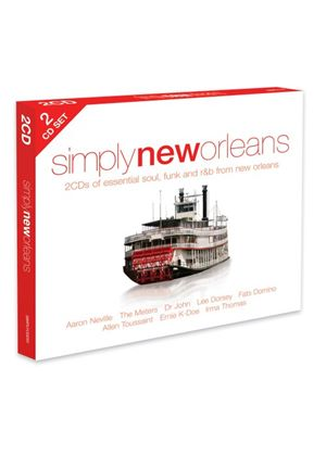 Various Artists - Simply New Orleans (Music CD)