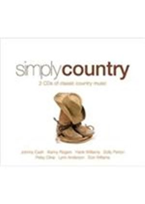 Various Artists - Simply Country (Music CD)